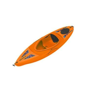 DELUXE SIT IN CANOE / KAYAK - ADULT (SF-1006) ORANGE water sports inside COLLECT